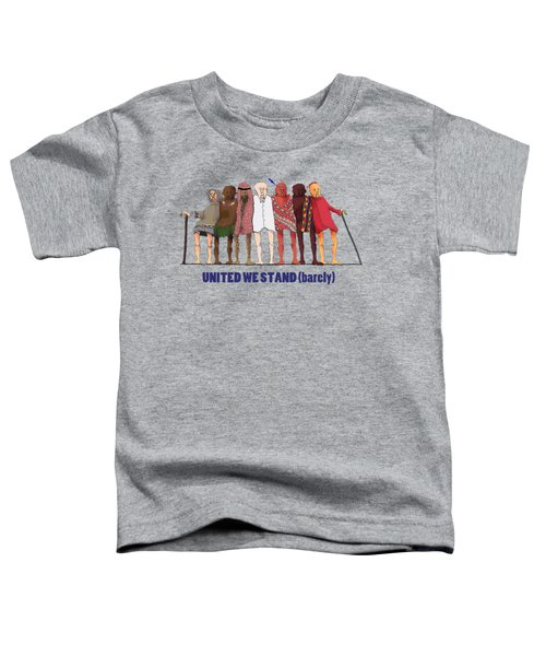 United We Stand Transparent Background Toddler T-Shirt