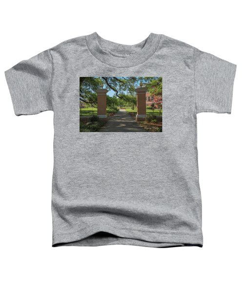University And Johnston Entrance Toddler T-Shirt