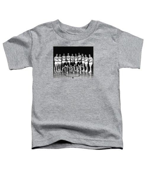 University Of Michigan Basketball Team 1960-61 Toddler T-Shirt