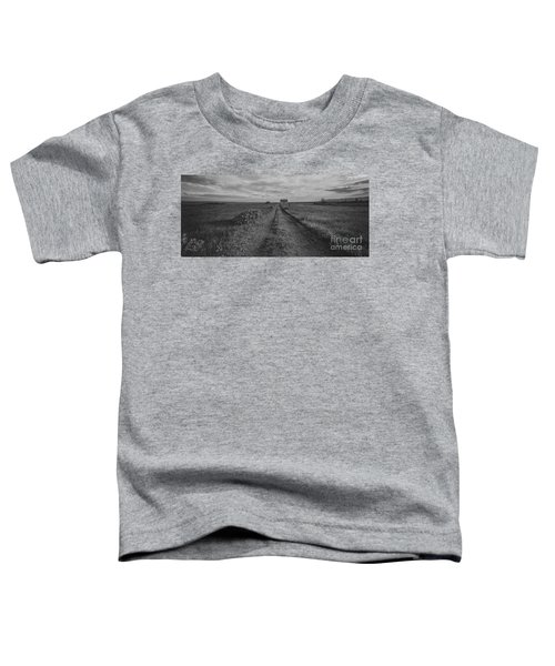 Unknown Road Bw Toddler T-Shirt