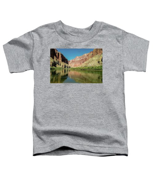 Up The  Colorado River From Littlle Nankoweap Beach Toddler T-Shirt