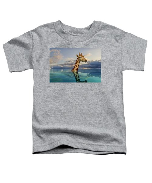 Up To My Neck Toddler T-Shirt