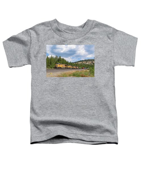 Up2650 Westbound From Donner Pass Toddler T-Shirt