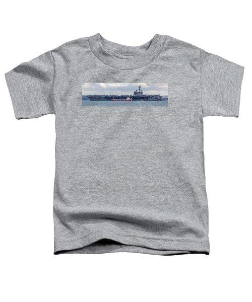Uss George H.w Bush. Toddler T-Shirt