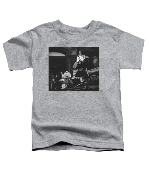 V For Victory - Winston Churchill Toddler T-Shirt