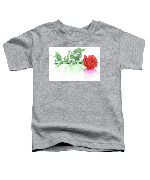Valentine Rose Toddler T-Shirt