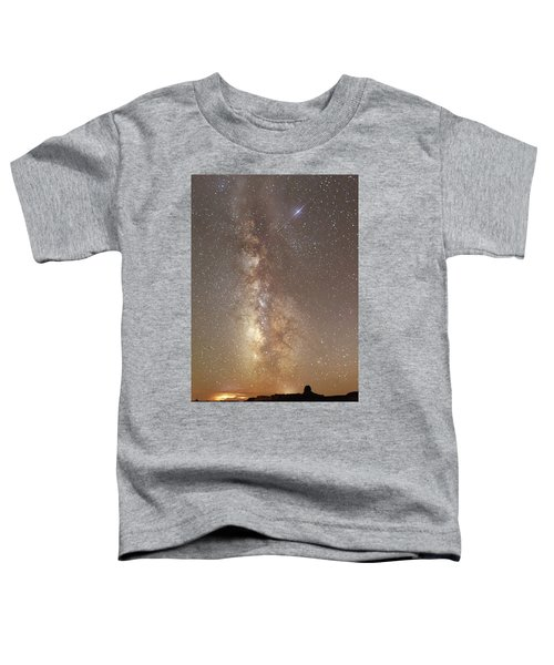 Valley Of The Gods Milky Way Toddler T-Shirt