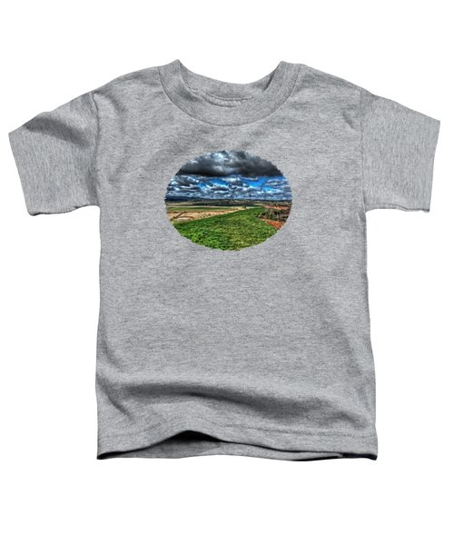 Van Duzer Vineyards View Toddler T-Shirt by Thom Zehrfeld