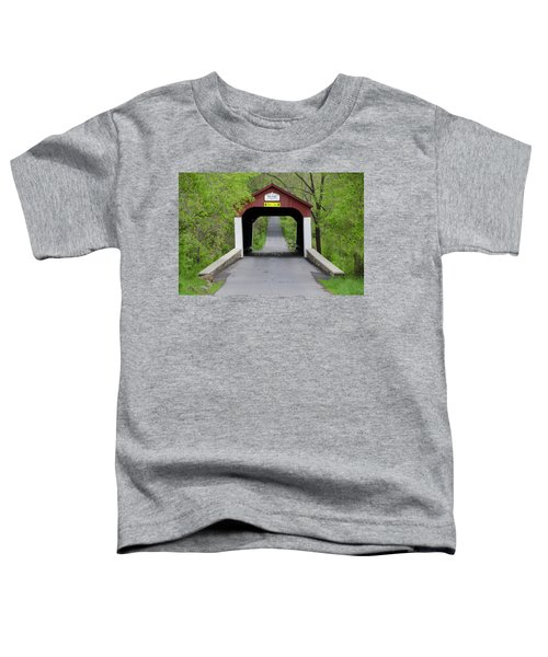 Van Sandt Covered Bridge - Bucks County Pa Toddler T-Shirt