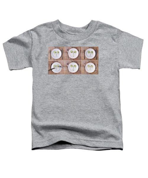 Vegetable Faces Toddler T-Shirt