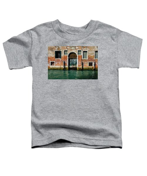 Venetian House On Canal Toddler T-Shirt
