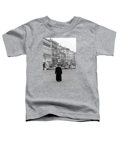 Venetian Priest And Gondola Toddler T-Shirt