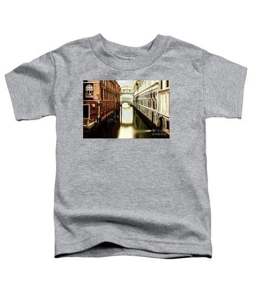 Venice Bridge Of Sighs Toddler T-Shirt