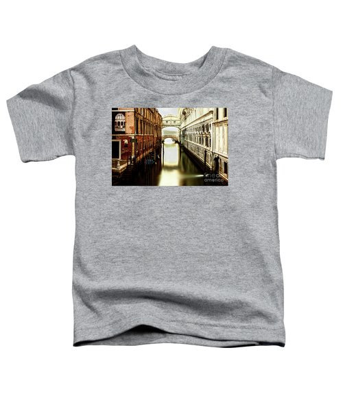 Venice Bridge Of Sighs Toddler T-Shirt