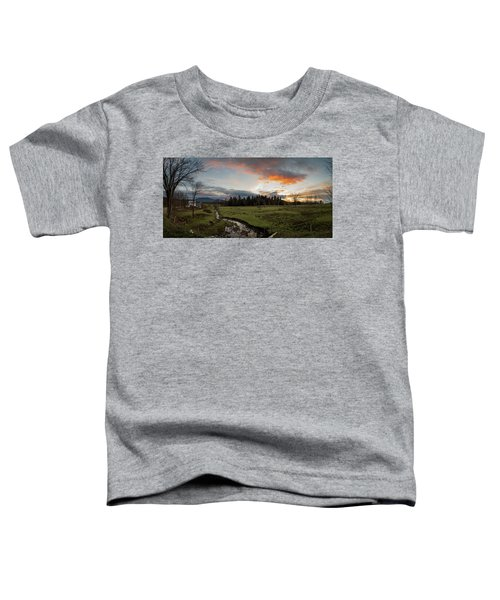 Vermont Sunset Toddler T-Shirt