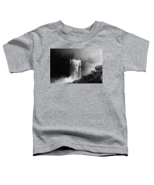 Vernal Fall And Mist Trail Toddler T-Shirt