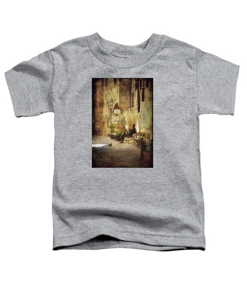 Vicolo Chiuso   Closed Alley Toddler T-Shirt