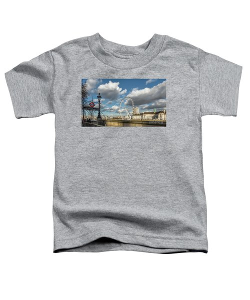 Victoria Embankment Toddler T-Shirt by Adrian Evans