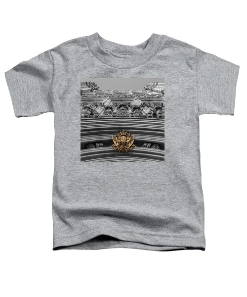 Victoria Tower Low Angle London Toddler T-Shirt