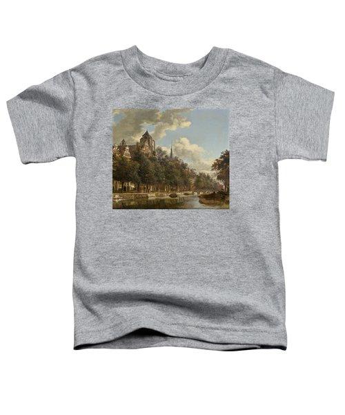View Down A Dutch Canal Toddler T-Shirt