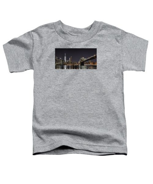 View From Brooklyn Bridge Park Toddler T-Shirt
