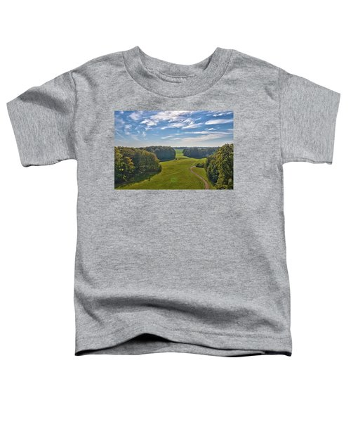 View From Lilac Mountain Toddler T-Shirt