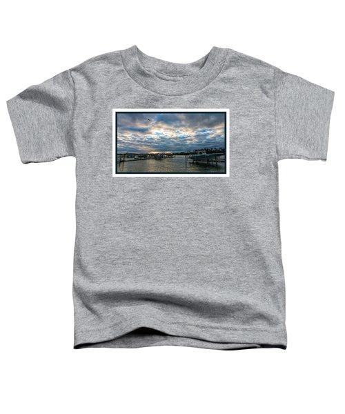 View From Marina Bay Toddler T-Shirt