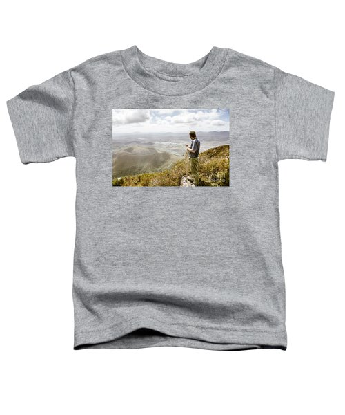 View From Mt Zeehan Tasmania Toddler T-Shirt