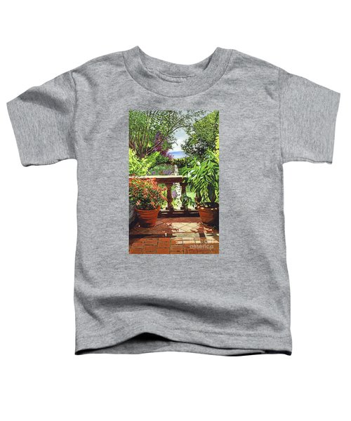 View From The Royal Garden Toddler T-Shirt