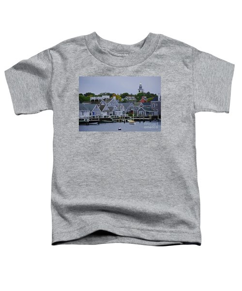 View From The Water Toddler T-Shirt