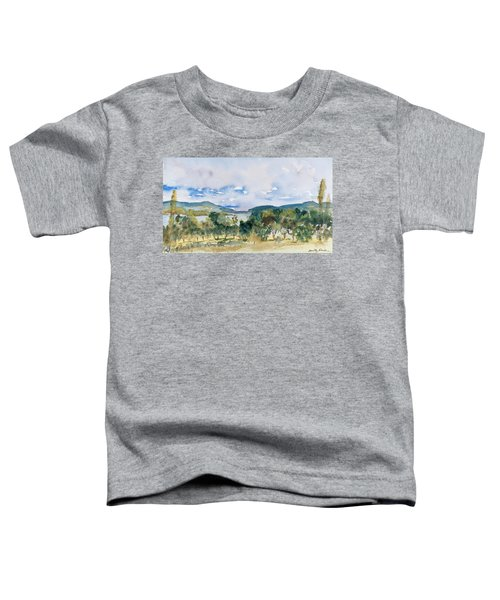 View Of D'entrecasteaux Channel From Birchs Bay, Tasmania Toddler T-Shirt
