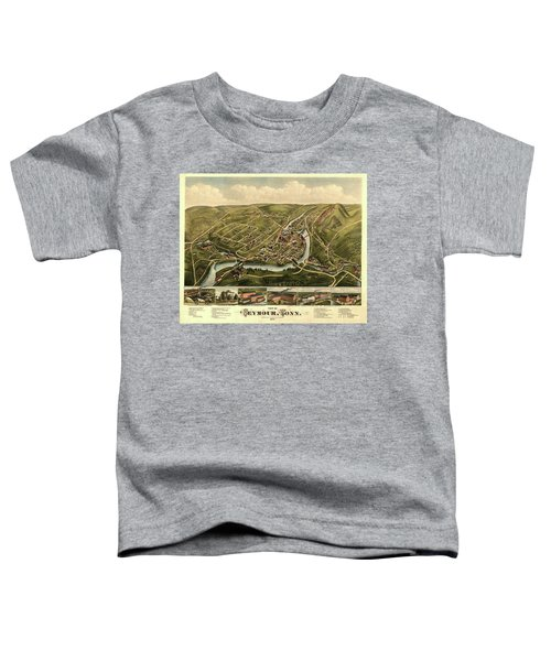 View Of Seymour, Conn. Toddler T-Shirt