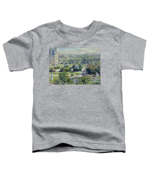 View Of The Tuileries Gardens Toddler T-Shirt