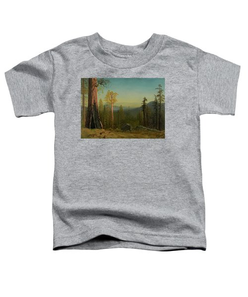 View Through The Trees Toddler T-Shirt