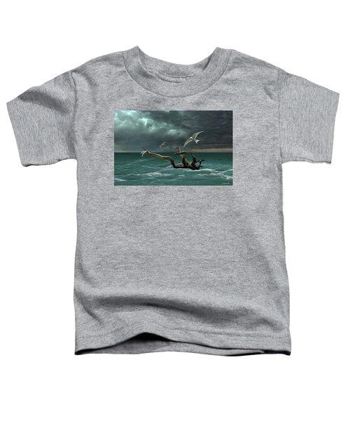 Vigil At Sea Toddler T-Shirt