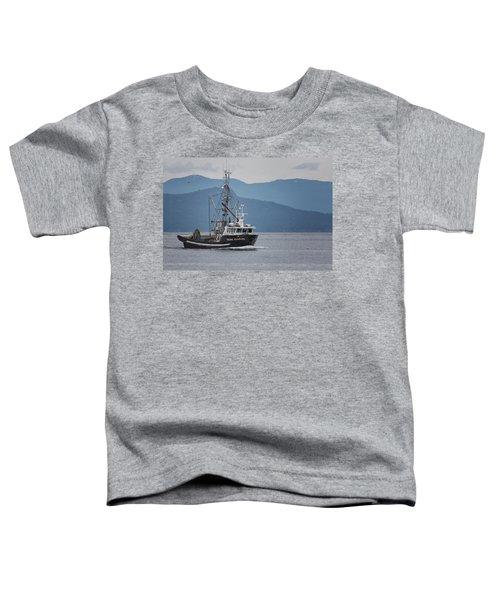 Viking Sunrise At Nw Bay Toddler T-Shirt