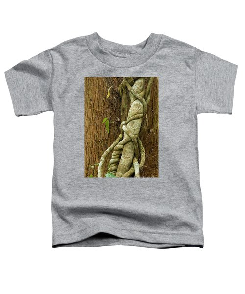 Toddler T-Shirt featuring the photograph Vine by Werner Padarin