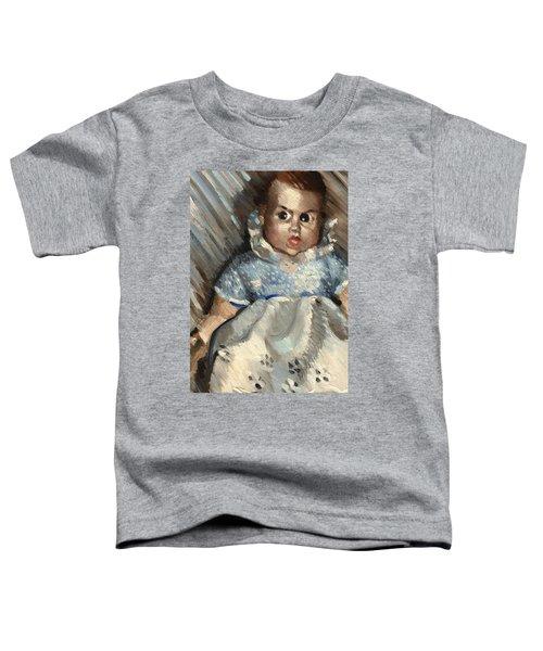 Vintage Baby Art Print Toddler T-Shirt