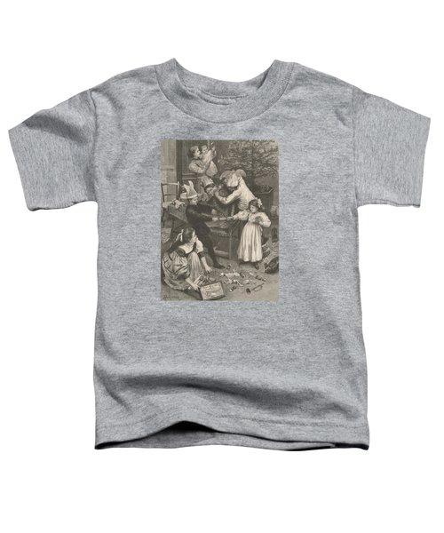 Vintage Christmas Card Toddler T-Shirt