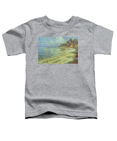 Vintage Hawaiian Art Toddler T-Shirt