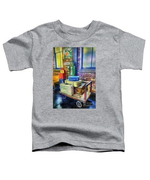 Vintage Luggage Toddler T-Shirt