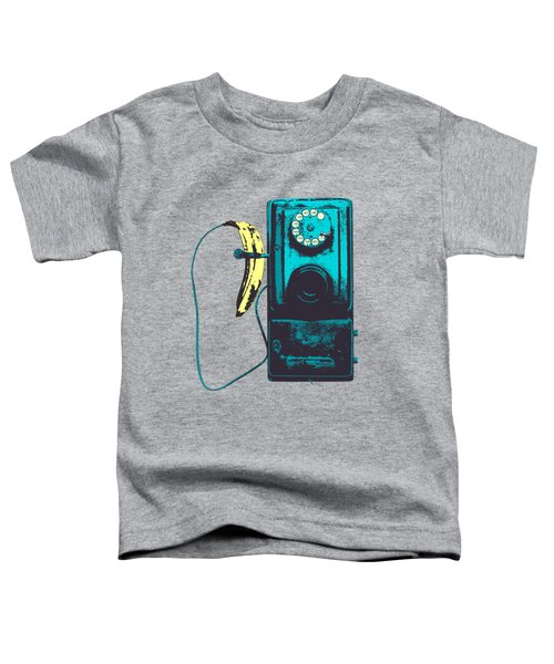 Vintage Public Telephone Toddler T-Shirt by Illustratorial Pulse