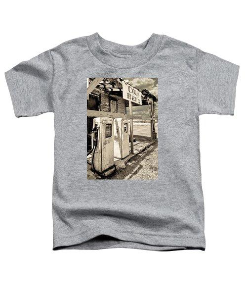 Vintage Retro Gas Pumps Toddler T-Shirt