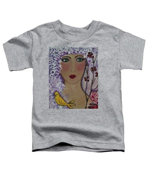 Violet Queen Toddler T-Shirt