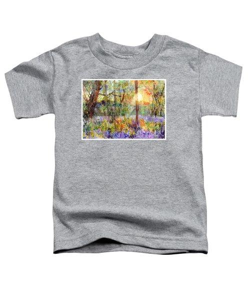 Violet Sunrise Toddler T-Shirt