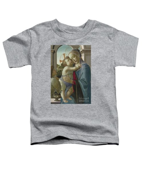 Virgin And Child With An Angel Toddler T-Shirt