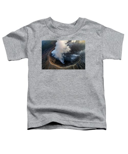 Volcanic Crater From Above Toddler T-Shirt