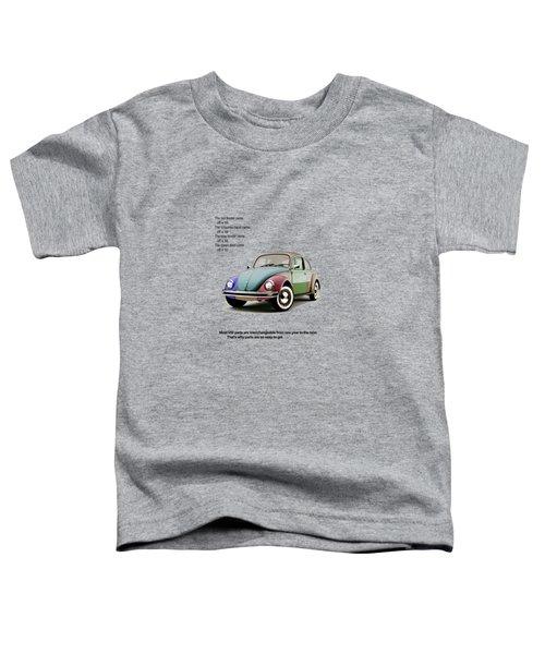 Vw Parts Toddler T-Shirt by Mark Rogan
