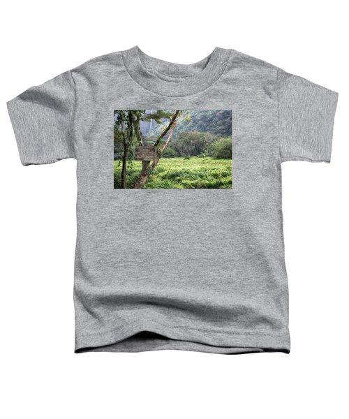 Waipio Valley Road Rules Toddler T-Shirt