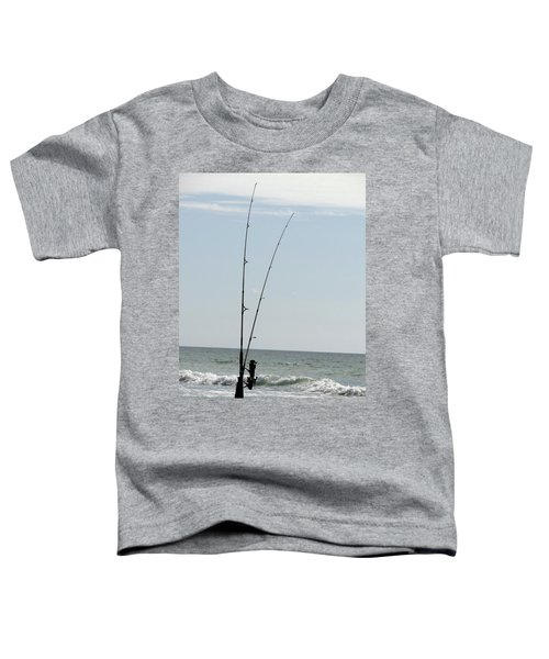 Waiting For The Bait Toddler T-Shirt